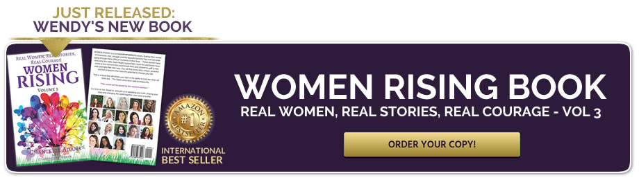Women Rising book with Chantelle Adems